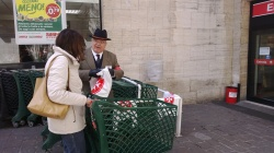 Raccolta Alimentare SMOM Ponte Milvio. Roma, 29 marzo 2014